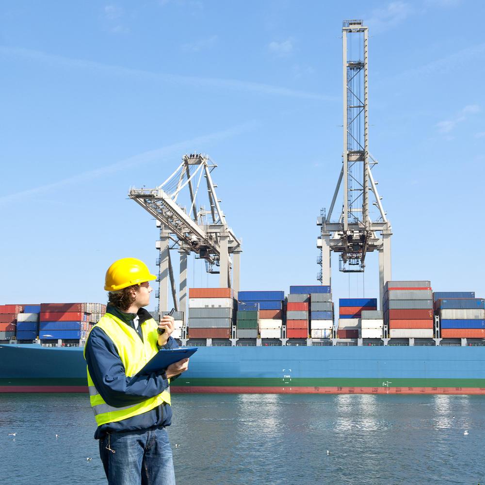 Экспедирование контейнеров в порту